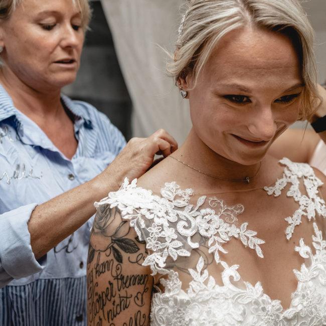 Hochzeitsreportage mit DEL Eishockeyprofi Marcel Brandt und Tanja