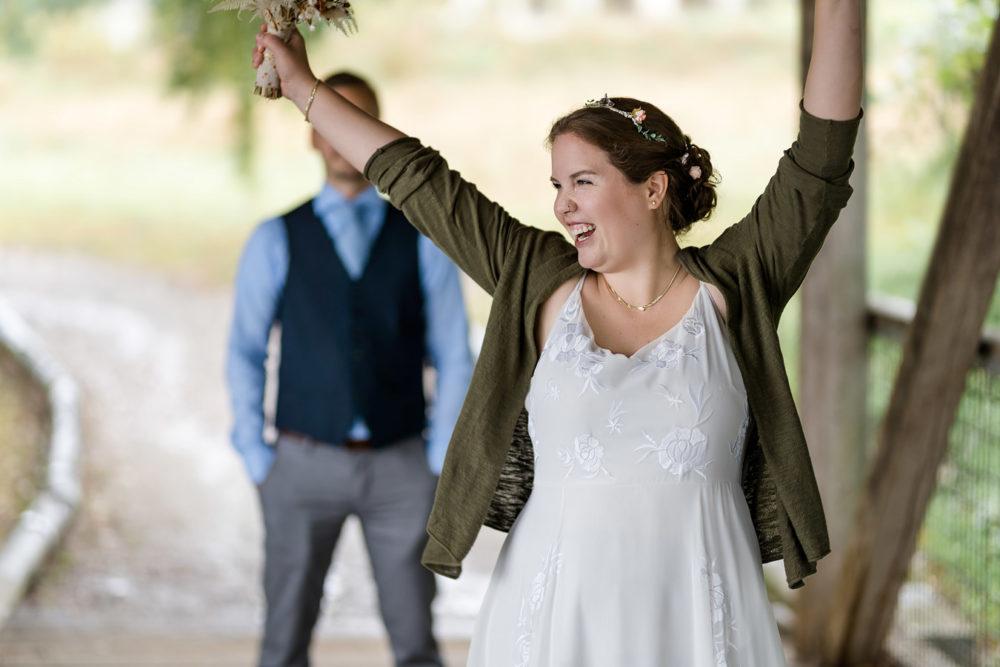 Hochzeitsfotograf Straubing | Hochzeitsfotos im Regen | Wiesenfelden | Wedding